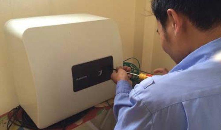 Sửa bình nóng lạnh tại Chùa Bộc